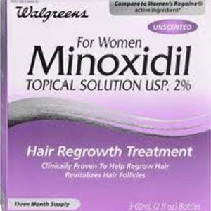 Minoxidil para a mulher
