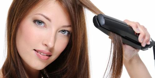 Alisar o cabelo com prancha